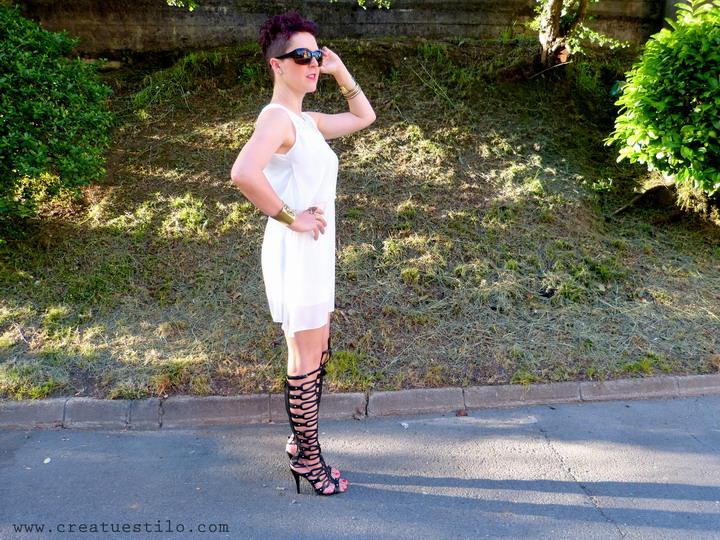 Vestido blanco con dorado (6)
