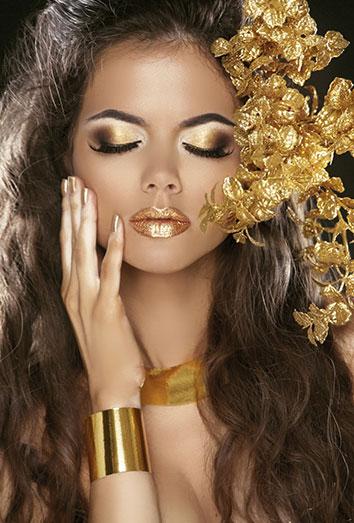 Maquillaje para fiestas navideñas (8)